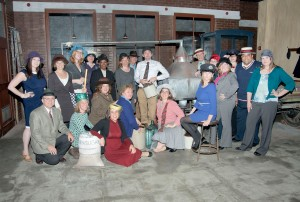 SHA Class of 2012 in the Indiana Historical Society's Prohibition-era You Are There interactive experience.