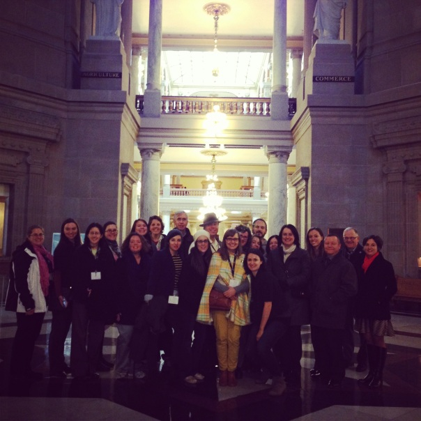 SHA 2014 at the Indiana Statehouse