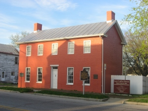 Levi_Coffin_House,_front_and_southern_side