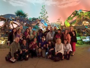 Class of 2016 visits dinosaurs at the Children's Museum of Indianapolis